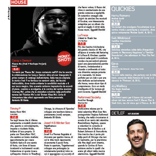 "DJ MAG IT reviews Reformed Society ""Food For Thought"""