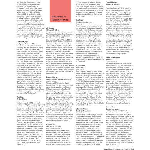 The Wire Magazine December 2018 reviews Air Liquide 'This Is A Mind Trip'