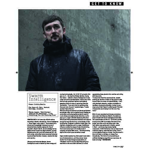 DJ MAG interview with Swarm Intelligence